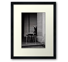 The Universal Language Framed Print