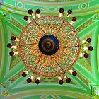 Ceiling-Chandelier at Peter & Paul's by Mary-Elizabeth Kadlub