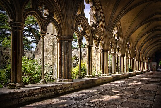 Salisbury Cloisters by hebrideslight
