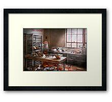 Baker - Kitchen - The commercial bakery  Framed Print