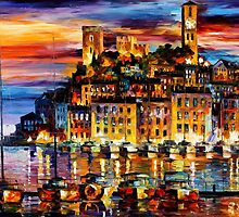 CANNES - FRANCE - OIL PAINTING BY LEONID AFREMOV by Leonid  Afremov