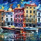 NORMANDY - OIL PAINTING BY LEONID AFREMOV by Leonid  Afremov