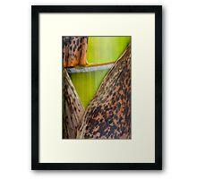 half-naked green Framed Print