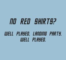 No Red Shirts? T-Shirt