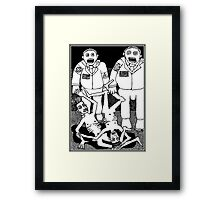 A Reasonable Fear Of The Fascist States Of America Framed Print