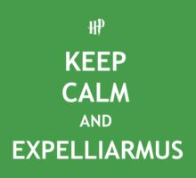 Keep Calm and Expelliarmus Kids Clothes