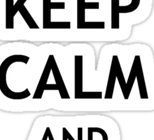 Keep Calm and Expelliarmus Sticker