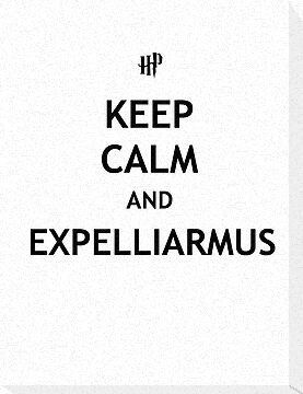 Keep Calm and Expelliarmus by tappers24