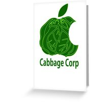 Legend of Korra Avatar Cabbage Corp Greeting Card