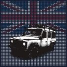 Union Jack Land Rover Defender by Robin Lund