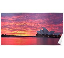 Sublime Sydney Sunrise Poster