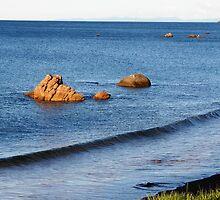 Rock Islands, Penguin, Tasmania, Australia. by kaysharp