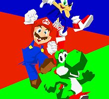 Mario, Yoshi and Sonic Edgy Compilation. by Aaron Pacey