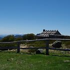 Craigs Hut, Mt. Stirling, Alpine National Park, Victoria by Lisa Evans