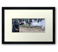Muzzle Loading Fun - Hill Ends NSW Australia Framed Print