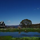 Dinner Plan Village, Victorian High Country. by Lisa Evans
