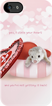 Ferrets, the thieves of hearts by marithis