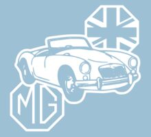 MG MGA Classic British Sports Car by Robin Lund