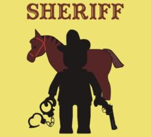 """SHERIFF"" by Customize My Minifig by ChilleeW"