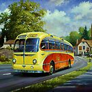 Yellowways AEC Seagull by Mike Jeffries