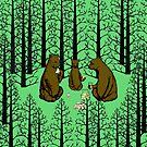 Bears Picnic by jamface