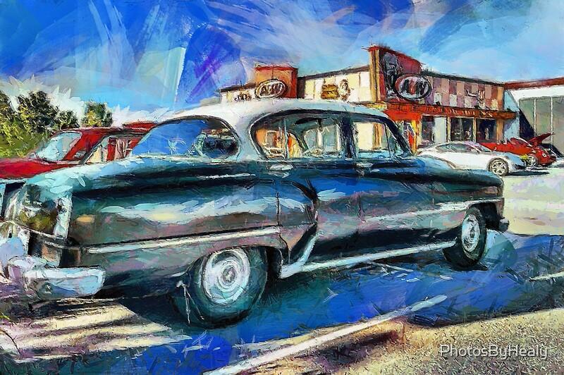 1954 DeSoto Powermaster 4-door sedan