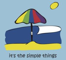 Simple Things - Beach Umbrella by Jon Winston
