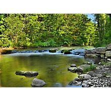 """ Ninemile Creek - Upstate, NY "" Photographic Print"