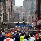 Boston Marathon by TWCreation