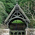 Lychgate to St Peter's Churchyard, Alton  by Rod Johnson