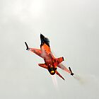 Czech F-16 Display Falcon by Darrenadie