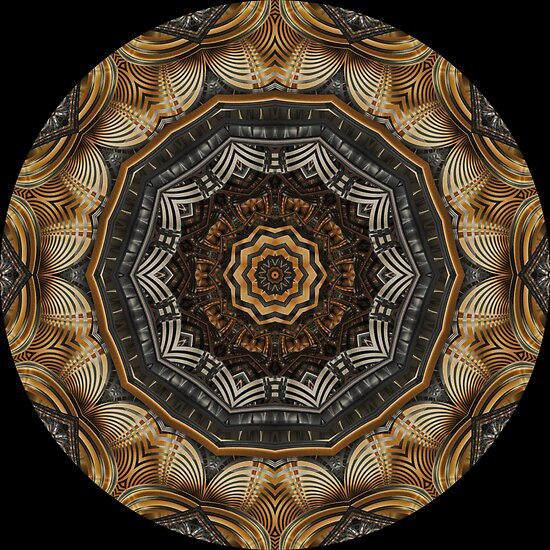 Clockwork Kaleidoscope 03 by fantasytripp