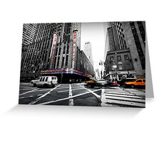 Mad-hattan Moments - New York, USA Greeting Card