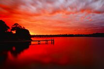 Red Glow by Arfan Habib