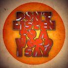 Don't by James McKenzie