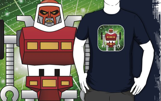 """Cy-Kill """"Evil Robot Leader"""" (Gobots) by thespookyfog"""