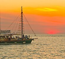 Sunset Cruise by Dennis Wetherley