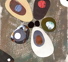 Eames era mid century design abstract by bearoberts