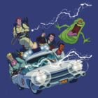 The Real Ghostbusters by lynchboy