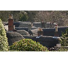 Shanklin Rooftops Photographic Print