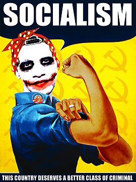 Joker Rosie Obama Socialist by midniteoil