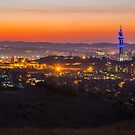 Last light over Pretoria by Rudi Venter