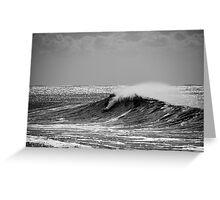 Big Wave Surfing Burleigh Heads Greeting Card