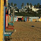 Brighton Beach Bathing Boxes by TJSPictures