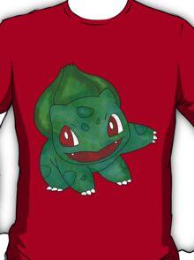Bulbasaur Leaf Design T-Shirt