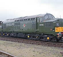 British Rail class 37 diesel-electric Locomotive by Keith Larby