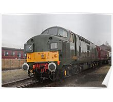 British Rail class 37 diesel-electric Locomotive Poster