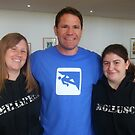 My Friend Jen and I with Wildlife Presenter Steve Backshall by Michaela1991