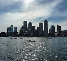 Boston Skyline by Blessedwalnut