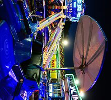 Luna park spinning tower carts (H) by shelfpublisher